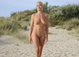 Nudist model nude