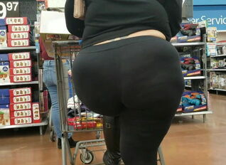 Candid fat ass